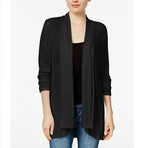 Style & Co XXL Black Cardigan 9AT32